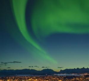 Nuit arctique Tromsø-Oslo