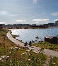 A vélo, du Rallarvegen jusqu'aux fjords