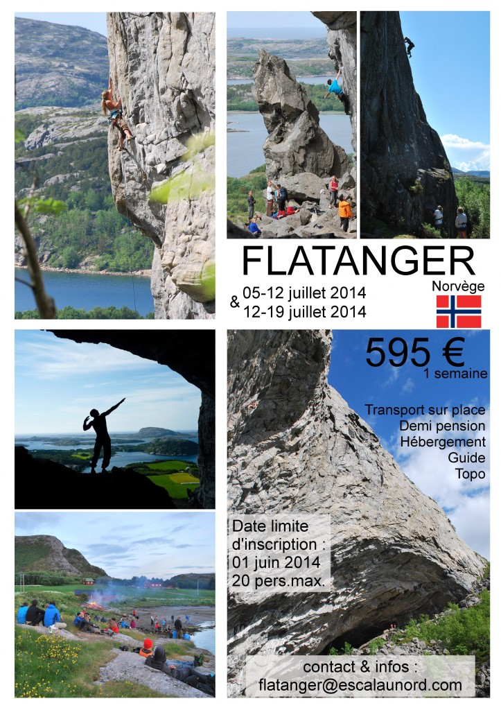 affiche flatanger juillet 2014