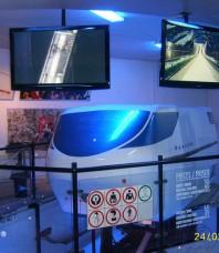 Simulateur de saut à ski