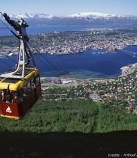 Téléphérique à Tromsø